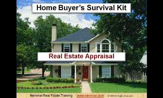 Home Buyer's Survival Kit - Videos. Real Estate Home Inspection, Appraisal, Energy Saving Home Improvements.