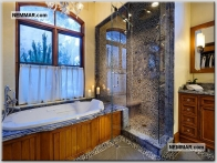0109 shower units prefabricated granite countertops