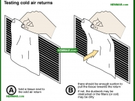 1260-co Testing cold air returns - Duct System - Air Condtioning - Air Conditioning and Heat Pumps