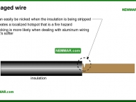 0512-co Damaged wire - The Basics Of Electricity - Service Drop and Service Entrance - Electrical