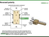 0613-co Reversed polarity - Lights and Outlets and Switches and Junction Boxes - The Distribution System - Electrical
