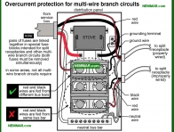 0618-co Wiring for multi wire branch circuits - Lights Outlets Switches Junction Boxes - The Distribution System - Electrical