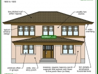 1736-co Prairie - Specific House Styles - Architectural Styles - Exterior