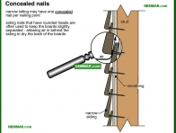1793-co Concealed nails - Wood - Exterior Cladding - Exterior