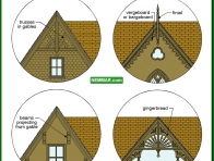 1706-co Gable details - Building Shapes and Details - Architectural Styles - Exterior