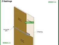 1809-co Z flashings - Plywood and Hardboard and Osb - Exterior Cladding - Exterior