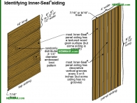 1810-co Identifying Inner Seal siding - Plywood and Hardboard and Osb - Exterior Cladding - Exterior