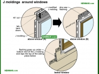 1815-co J moldings around windows - Metal and Vinyl - Exterior Cladding - Exterior