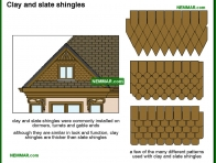 1817-co Clay and slate shingles - Other Sidings and Issues - Exterior Cladding - Exterior