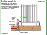 0901-co Radiator valve leaks - Distribution Systems - Hot Water Boilers - Heating
