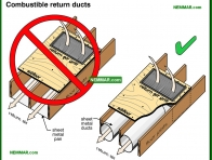 1029-co Combustible return ducts - Furnaces and Boilers - Wood Heating Systems - Heating