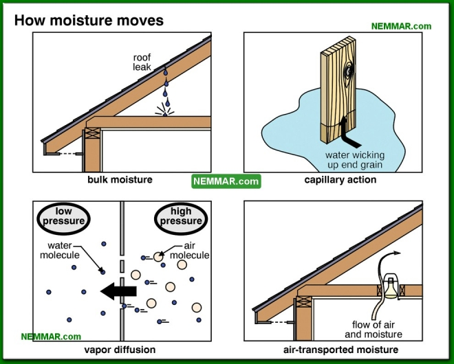 1312-co How moisture moves - The Basics - Insulation - Insulation
