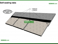 0012-co Self sealing tabs - Asphalt Shingles - Steep Roofing - Roofing