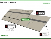 0017-co Fastener problems - Asphalt Shingles - Steep Roofing - Roofing
