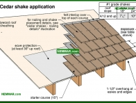 0024-co Cedar shake application - Wood Shingles and Shakes - Steep Roofing - Roofing
