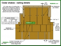 0025-co Cedar shake - nailing details - Wood Shingles and Shakes - Steep Roofing - Roofing