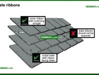 0032-co Slate ribbons - Slate - Steep Roofing - Roofing
