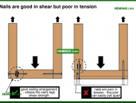 0279-co Nails are good in shear but poor in tension - Introduction - Floors - Structure