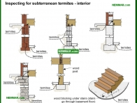 0349-co Vulnerabilities to subterranean termites - interior - Inspecting For Termites - Floors - Structure