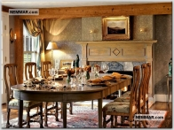 0046 furniture country dining rooms