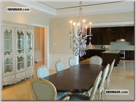 0245 residential interior design country dining room tables