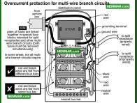0616 Wiring for Multi Wire Branch Circuits - Electrical Electricity - Lights Outlets Switches