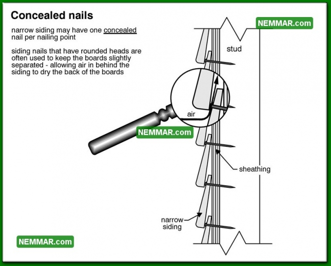 1791 Concealed Nails - House Exterior - Wood