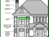 1733 Additional Queen Anne Details - House Exterior - Specific House Styles