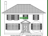 1727 Colonial Revival - House Exterior - Specific House Styles