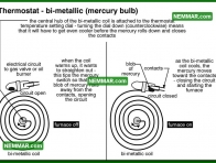 0762 Metallic Mercury Bulb - Heating - Thermostats