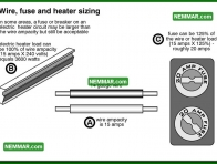 1136 Wire Fuse and Heater Sizing - Heating - Electric Heating Systems