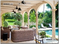 0181 used outdoor furniture patio one