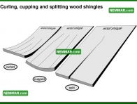 0029 Curling Cupping and Splitting Wood Shingles - Roofing - Wood Shingles Shakes