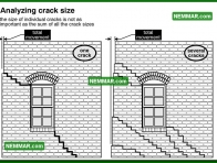 0222 Analyzing Crack Size - Structure Structural Foundation - Problems