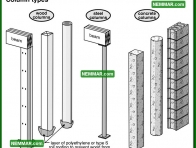 0284 Column Types - Floors - Columns